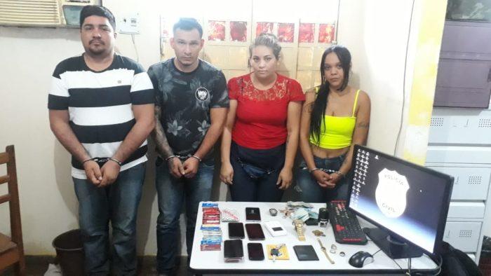 Grupo é preso por aplicar golpes em idosos em Presidente Figueiredo
