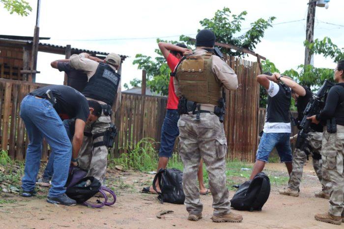 Polícia deflagra Operação 'Cidade das Trevas' na zona norte de Manaus