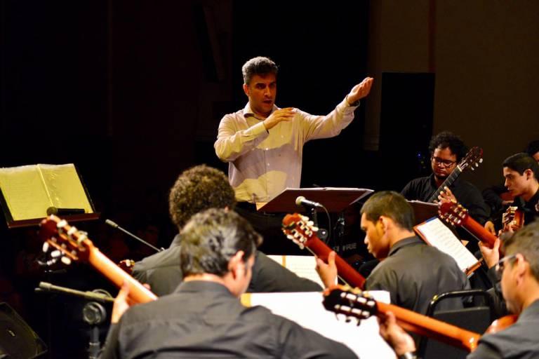 Comunidade de Tumbira recebe espetáculo da Orquestra de Violões do Amazonas, nesta quinta-feira (16)