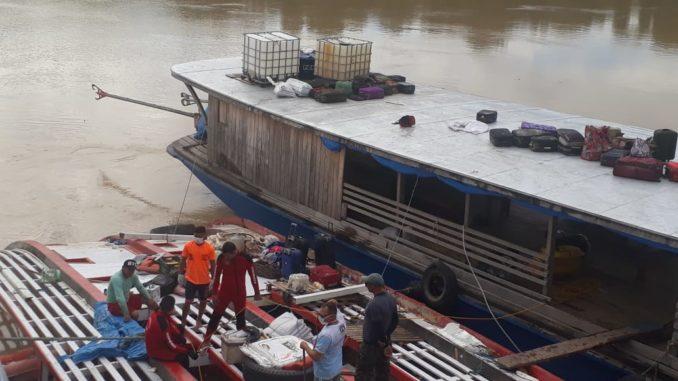 Bombeiros mergulhadores encerram as buscas no município de Carauari