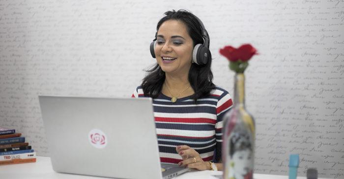 Produção de vídeos - Mentorias Marcela Rosa