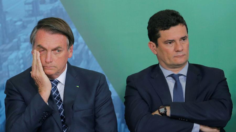 Em depoimento na PF, Moro disse que não acusou Bolsonaro de crime