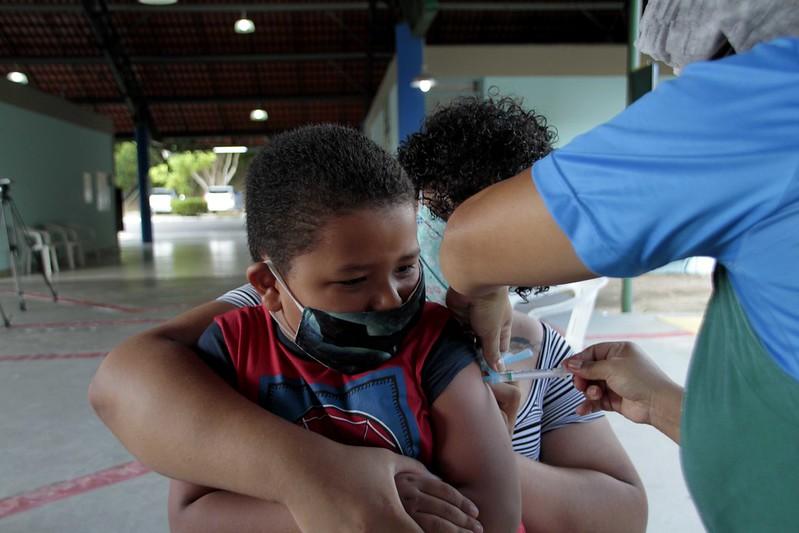 Manaus terá nova mobilização para imunizar crianças de seis meses até menores de seis anos