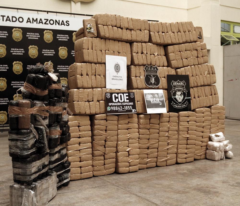 De janeiro a junho, Denarc apreendeu mais de 3 toneladas de drogas
