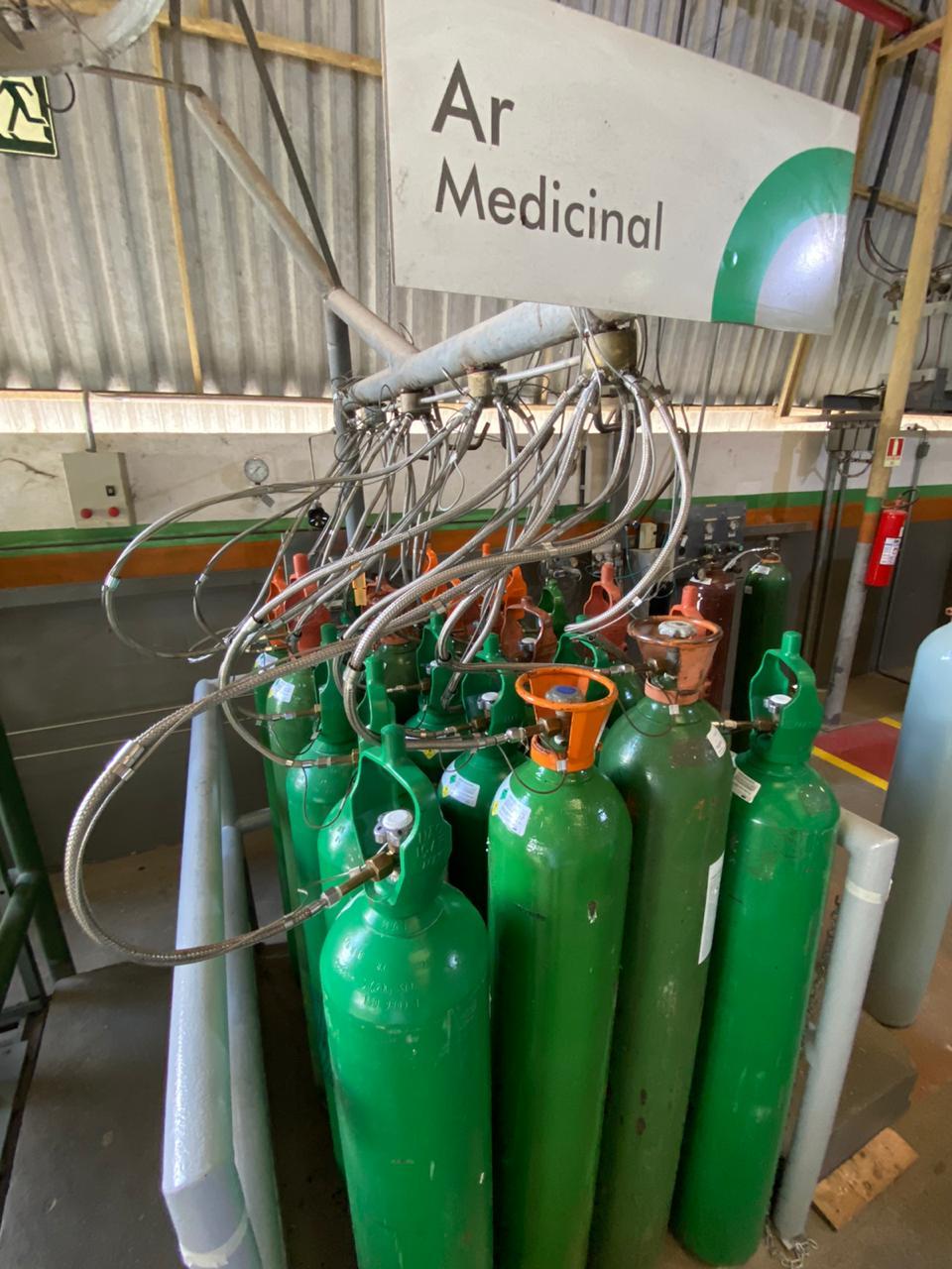 Empresa monta plano de emergência para fornecer Oxigênio aos hospitais públicos do AM