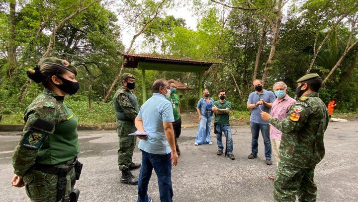 Parceria entre órgãos viabiliza revitalização do Refúgio Sauim-Castanheiras