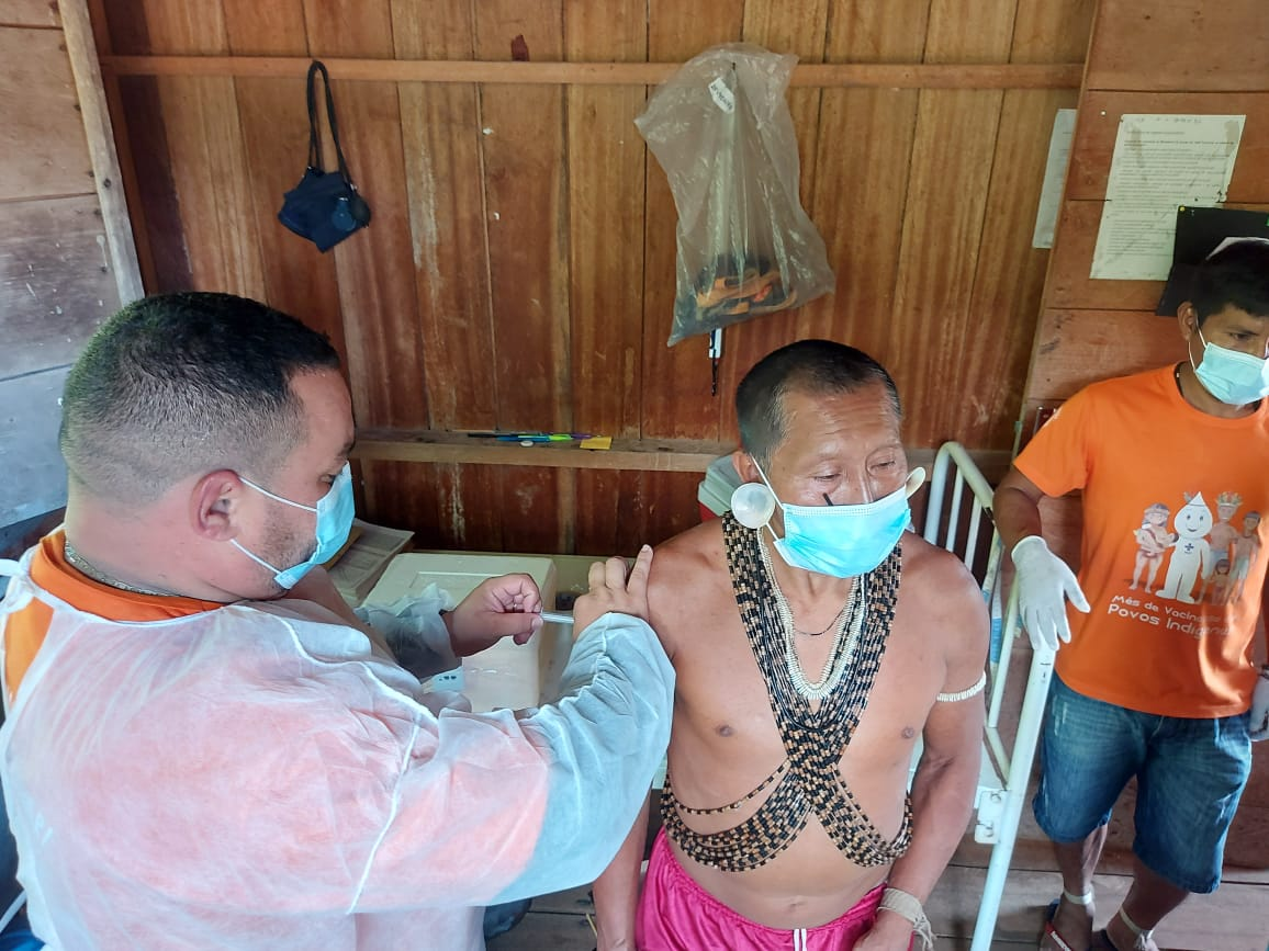 """Página """"Vacina Parente!"""", traz os números da vacinação indígenas e incentiva imunização"""