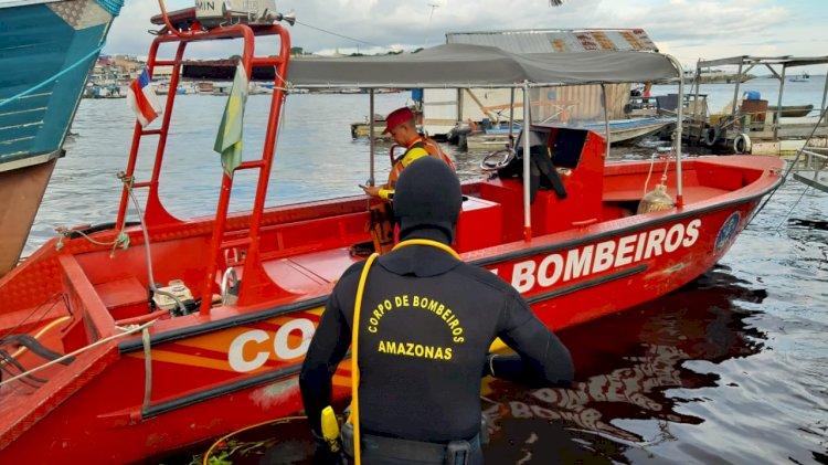 Corpo de bebê que caiu de flutuante é encontrado por bombeiros