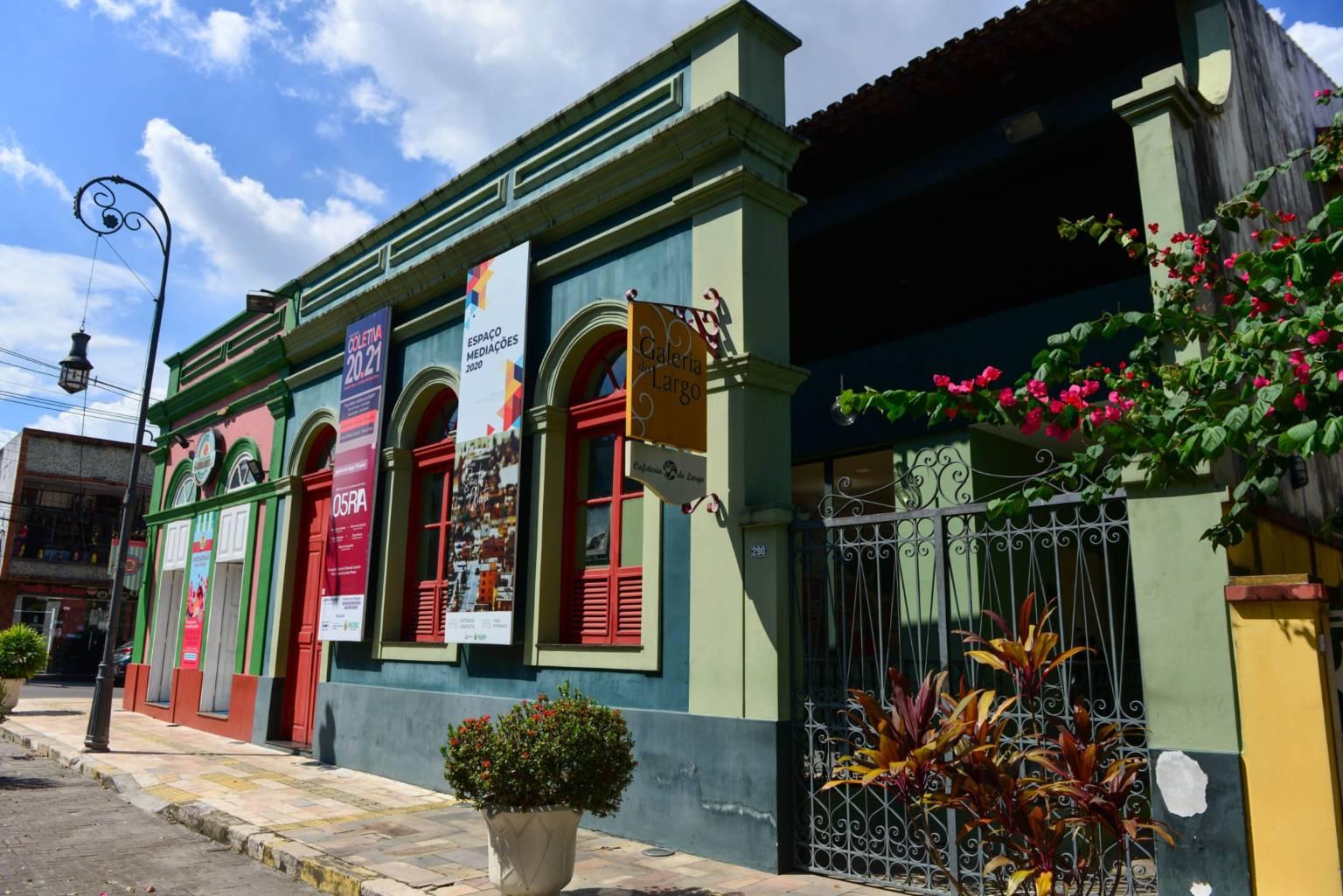 Galeria do Largo, Casa das Artes e Centro Cultural dos Povos da Amazônia abrem para visitação na terça-feira (15/06)