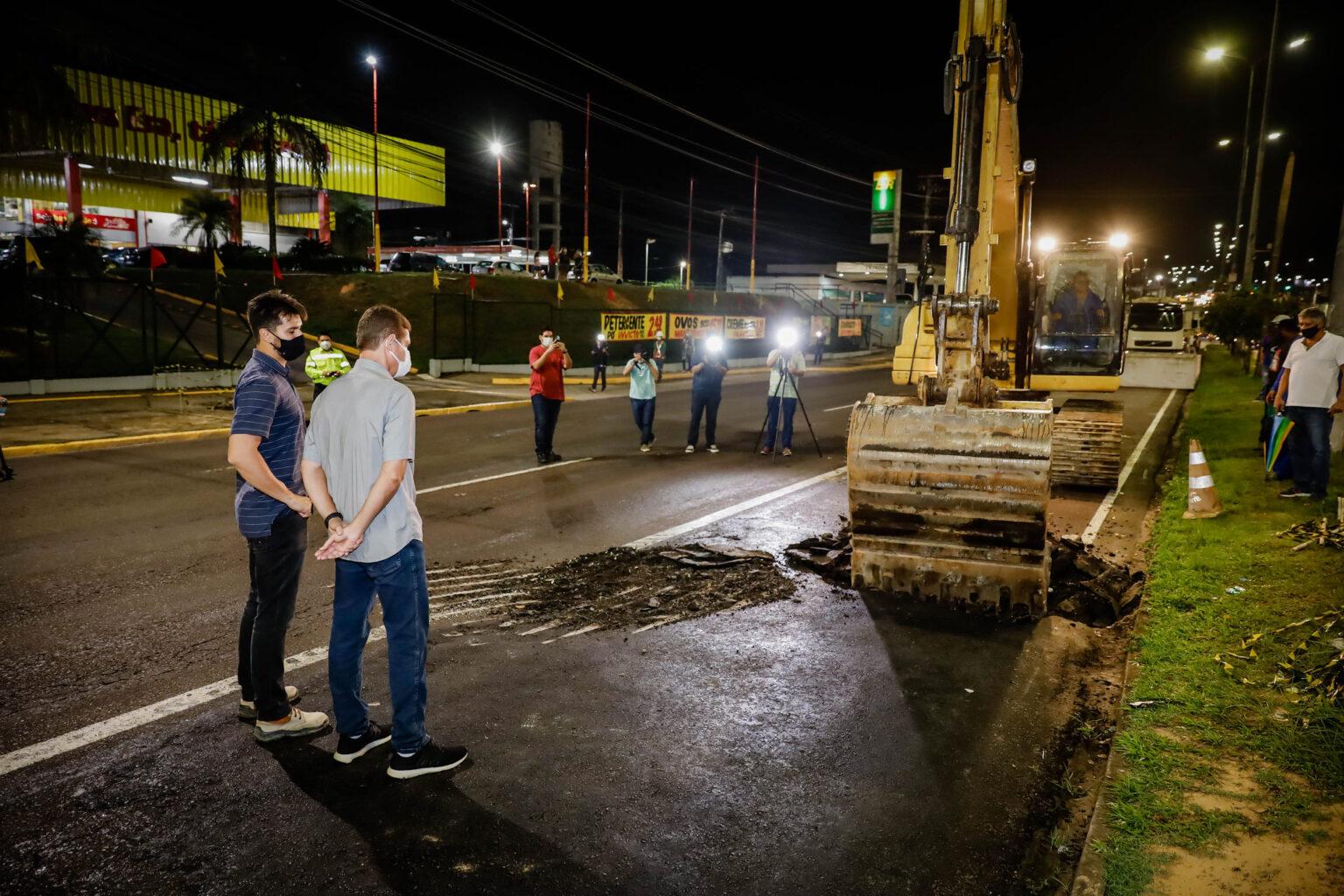 Manutenção: trânsito de veículos na Torquato Tapajós vai estar liberado somente para veículos pesados