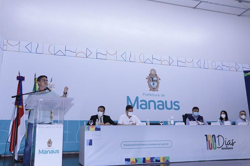 Prefeito David Almeida destaca êxito no mutirão de vacinação e planeja nova edição