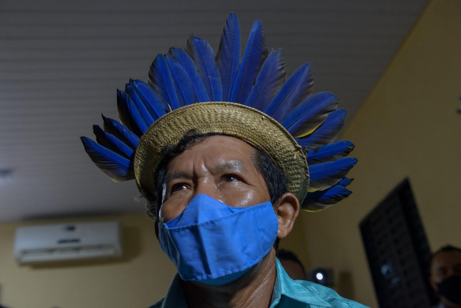 Documentário 'Bayaroá' é apresentado em escola indígena na comunidade São João