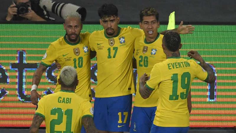 Em jogo tenso e com controvérsia, Brasil consegue no fim virada sobre a Colômbia pela Copa América