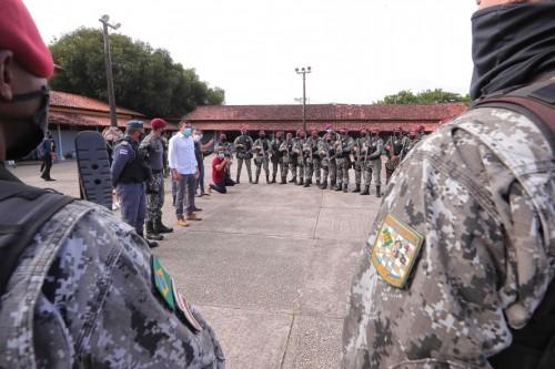Polícia Militar do Amazonas e Força Nacional dão início a Operação 'Mão de Ferro'