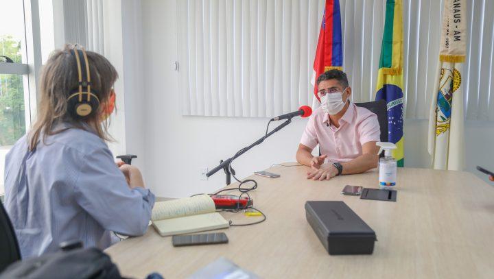 David Almeida destaca ZFM e afirma que não haverá terceira onda da Covid-19 em Manaus