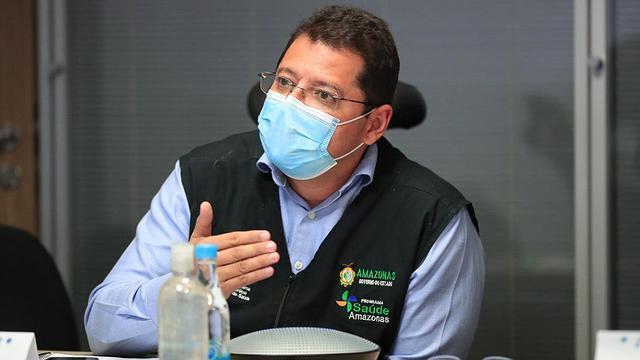 Marcellus Campêlo depõe na CPI da Pandemia no  Senado