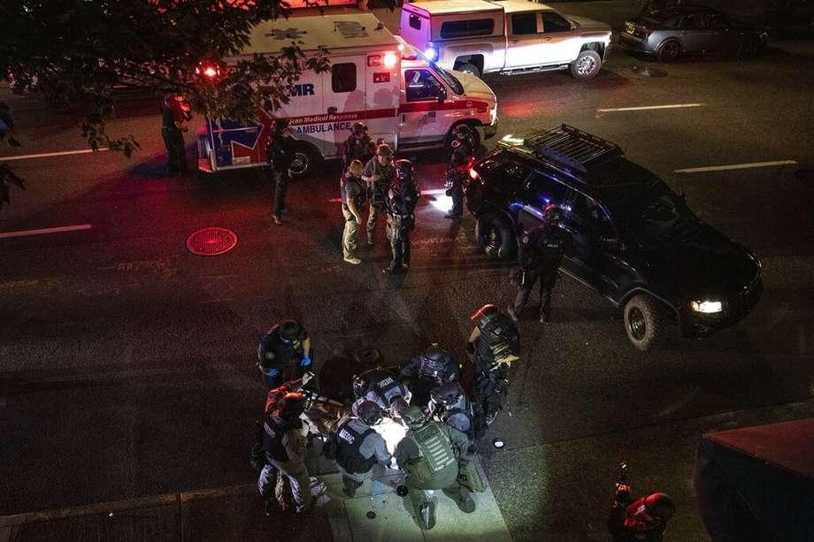 Dois são mortos e vários ficam feridos em quatro tiroteios diferentes em Portland