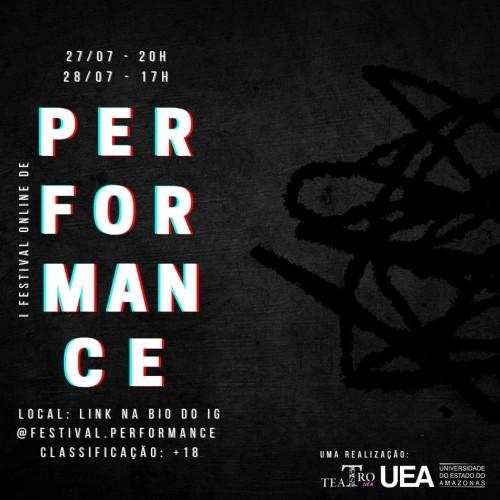 Curso de Teatro da UEA promove 1º Festival On-line de Performance
