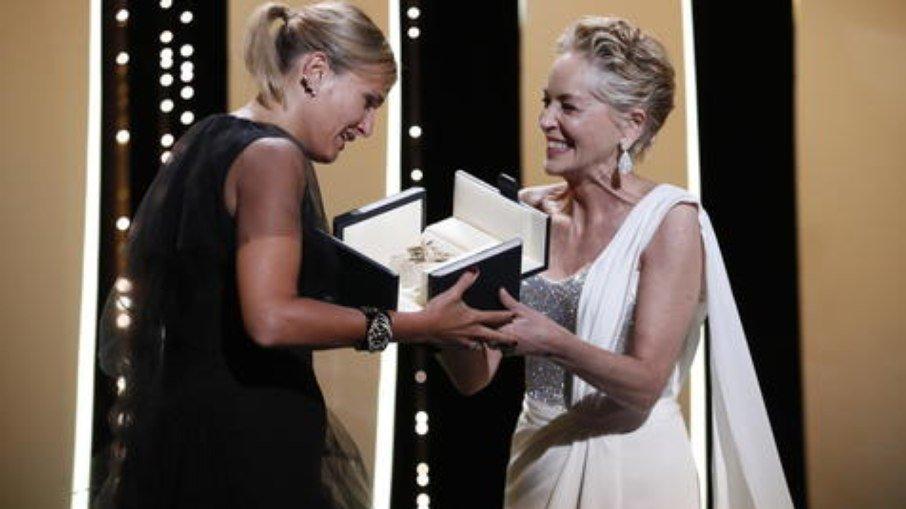 Pela primeira vez uma mulher ganha sozinha o prêmio principal de Cannes