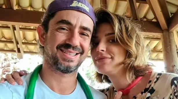 Felipe Andreoli e Rafa Brites fazem festa ao anunciar que estão esperando novo filho