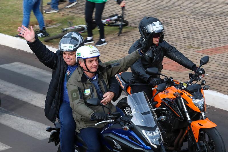 Com Bolsonaro internado, organizadores cancelam 'motociata' em Manaus