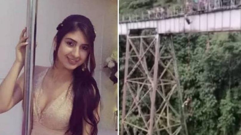 Vídeo: Jovem morre ao pular de bungee jumping na hora errada