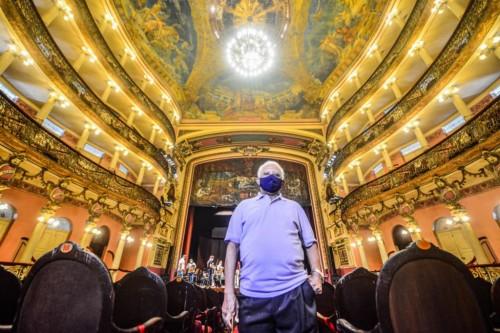 Portal da Cultura lança série de 125 anos do Teatro Amazonas