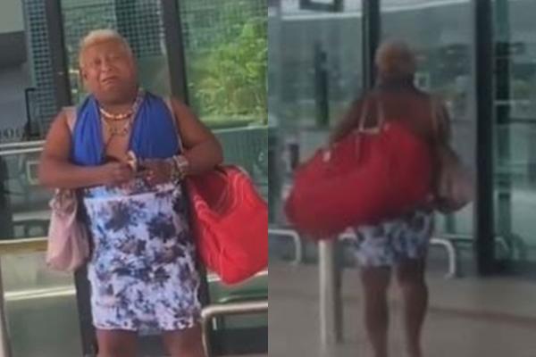 Vídeo: Patixa Teló se despede de Manaus chorando muito no aeroporto; assista