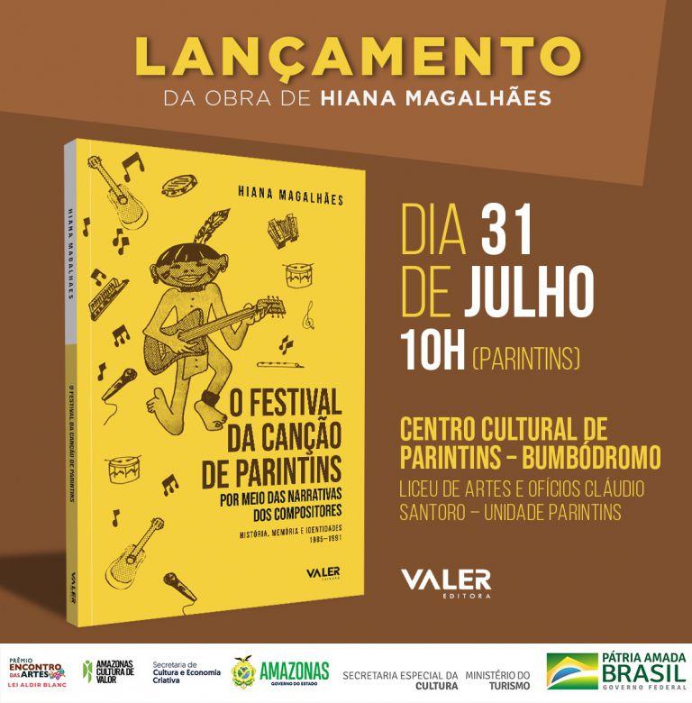 Livro 'Festival da Canção de Parintins' será lançado no Bumbódromo