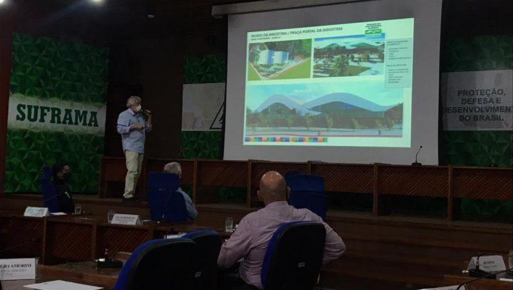 Integração para Distrito Turístico marca reunião entre prefeitura e Suframa