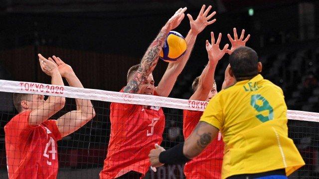Olimpíada: No vôlei, seleção masculina perde para a Rússia em prévia de candidatos ao ouro