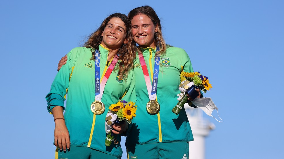 Brasil é ouro na vela com Martine Grael e Kahena Kunze