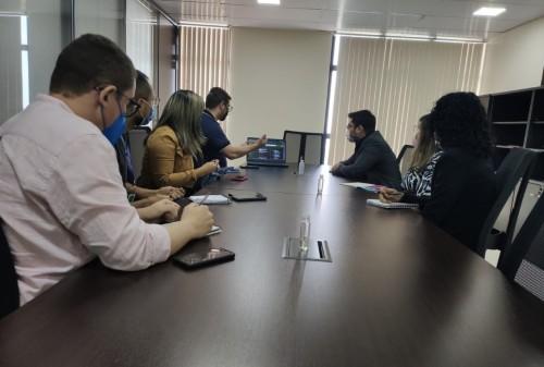 Defensoria Pública e Imprensa Oficial discutem parceria para divulgação do Legisla.AM