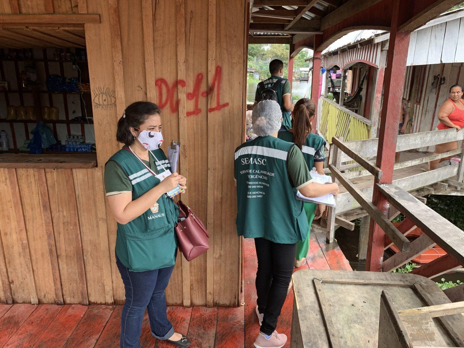 'Operação Cheia' libera mais uma parcela do auxílio para moradores de Manaus