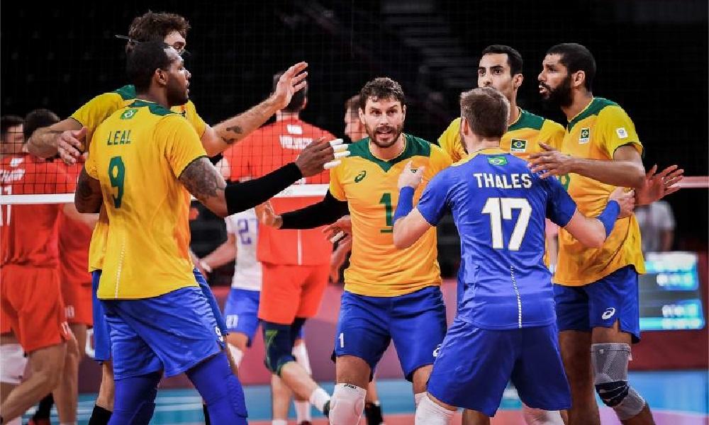 Vôlei: Brasil vence o Japão e vai enfrentar a algoz Rússia nas semifinais
