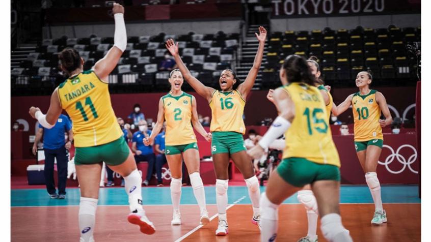 Com a cabeça na Rússia, Seleção feminina de vôlei vence o Quênia pelos Jogos Olímpicos de Tóquio