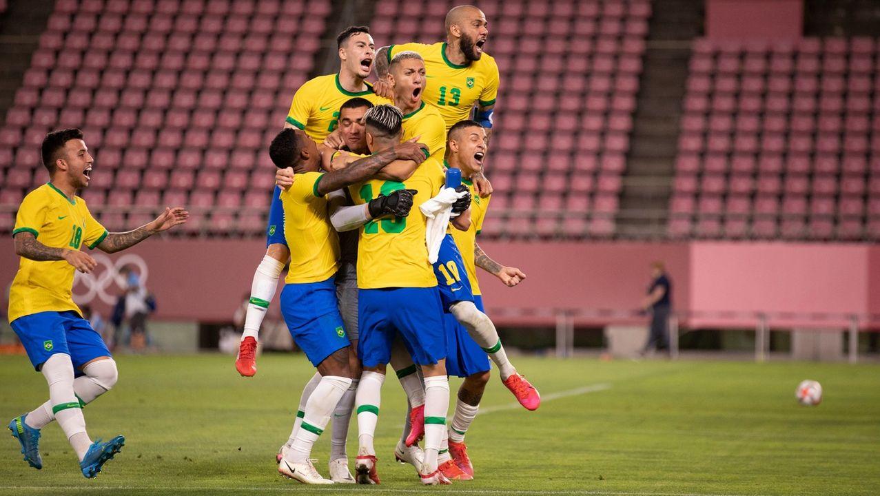 Futebol: Brasil vence México nos pênaltis e vai para a final do futebol nas Olímpiadas de Tókio