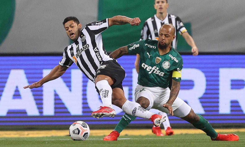 Palmeiras empata com o Atlético-MG pela ida da semifinal da Libertadores