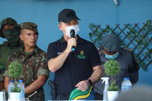 Tropa da Força Nacional alinha ações de combate às queimadas no sul do Amazonas