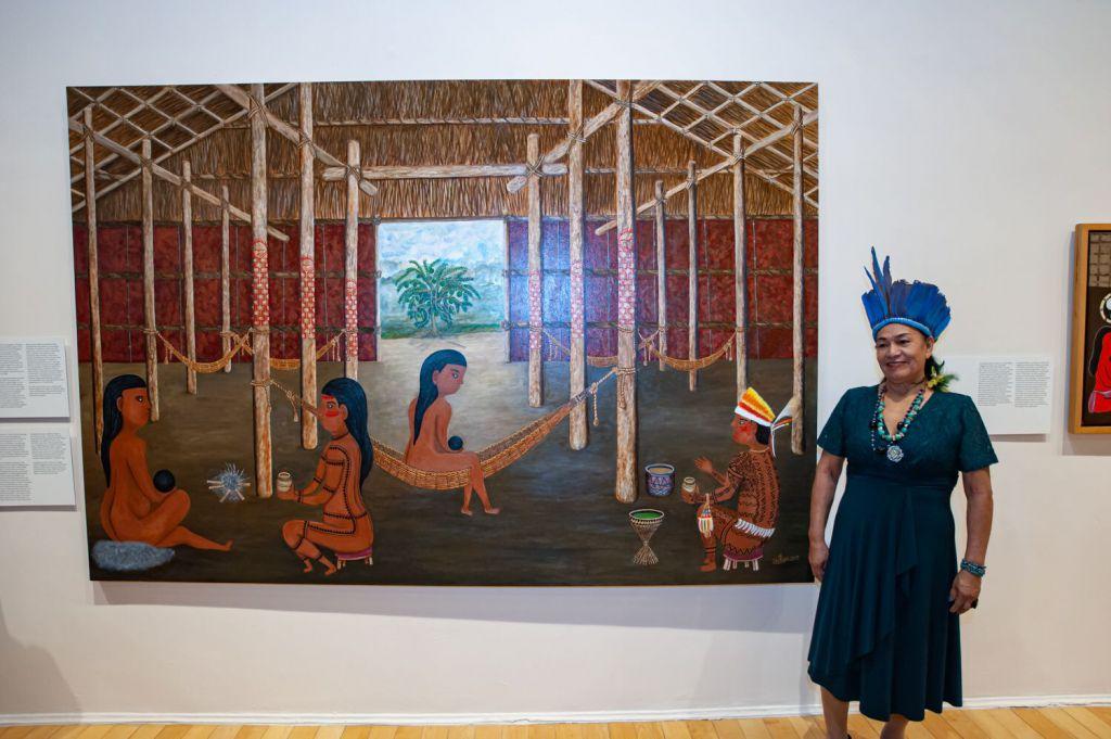 Duhigó é a primeira mulher indígena do Amazonas no acervo do Museu de Arte de São Paulo (MASP)