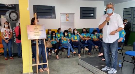 Prefeitura de Manaus reinaugura Cmei Graziela Ribeiro