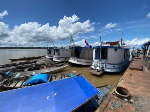 Mais de 200 quilos de pescado ilegal são apreendidos durante fiscalização da Base Arpão