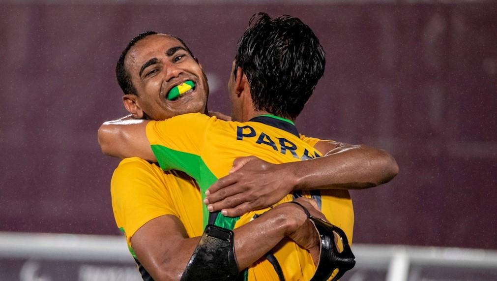 Brasil é penta no futebol de 5 para cegos
