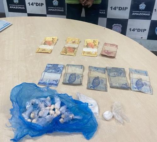 Homem é preso suspeito de comercializar drogas na zona leste