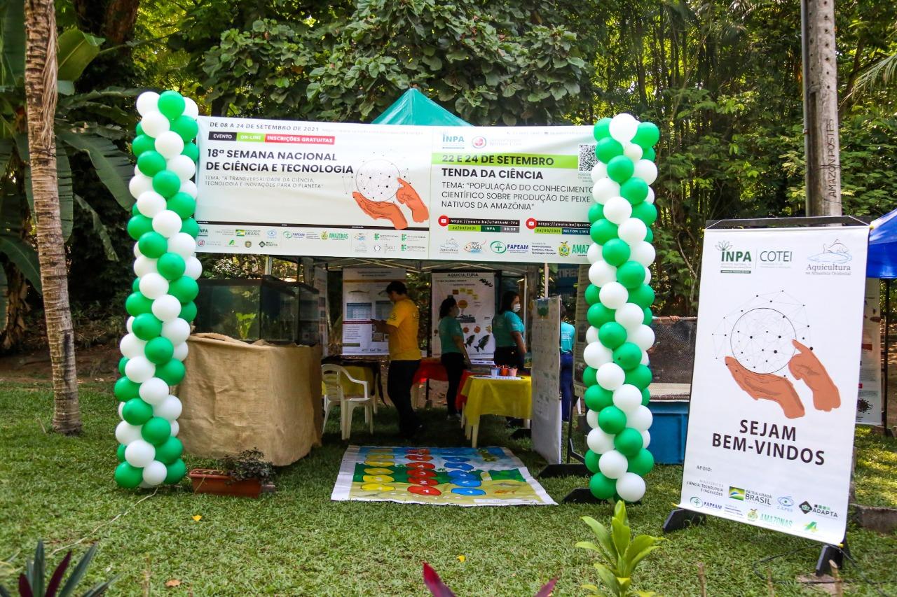 Exposição virtual apresenta peixes nativos da Amazônia e portas abertas a laboratórios