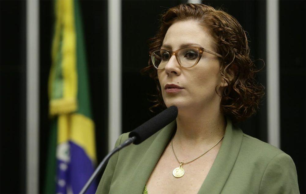Carla Zambelli depõe à PF sobre manifestações marcadas para 7 de setembro