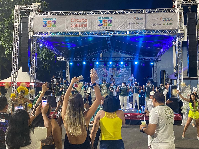 'Circuito Cultural Manaus 352 anos' tem continuidade e reúne grandes vozes da Amazônia