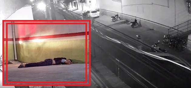 Câmera registra momento em que 'justiceiro' atira contra assaltantes na Zona Norte