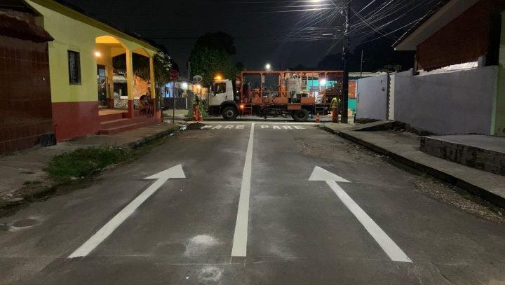 Trânsito é alterado em rua no bairro Cidade de Deus; veja a mudança