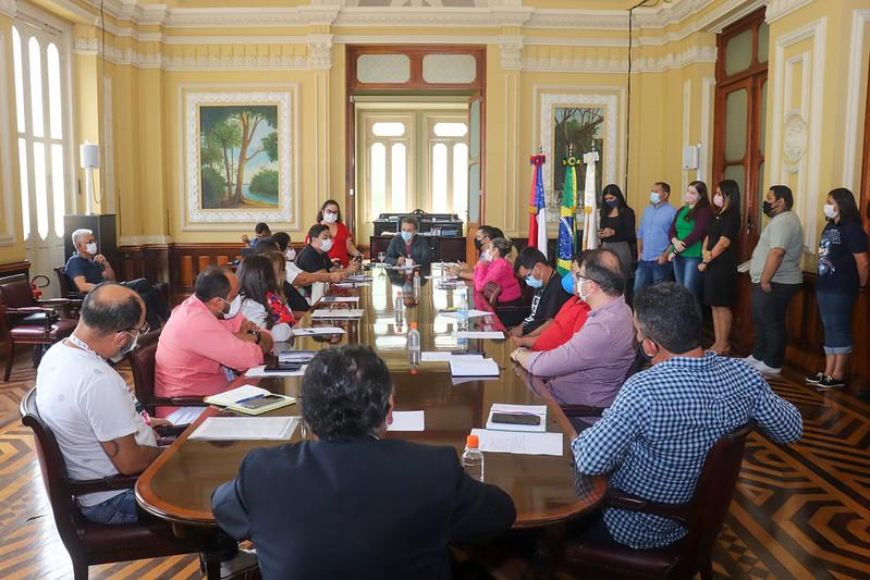 Concultura realiza a primeira reunião com os novos conselheiros para o biênio 2021/2023
